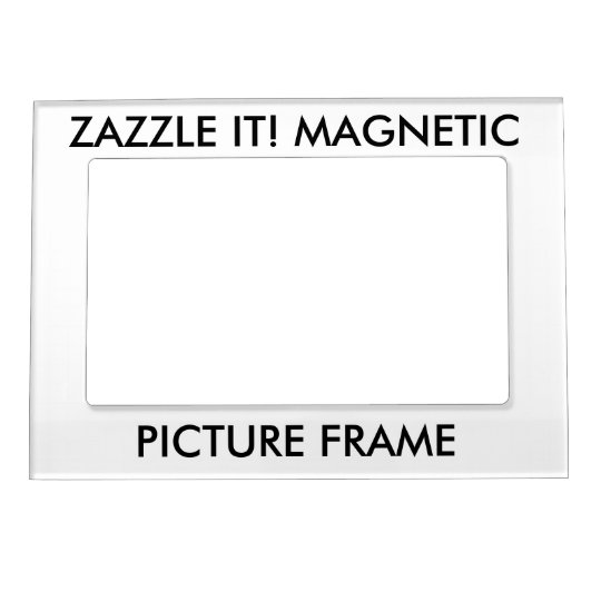 Custom Personalised Magnetic Picture Frame Blank