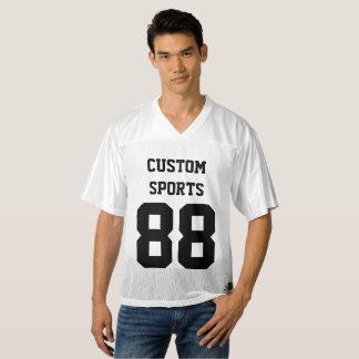 Custom Personalised Men's FOOTBALL JERSEY Template