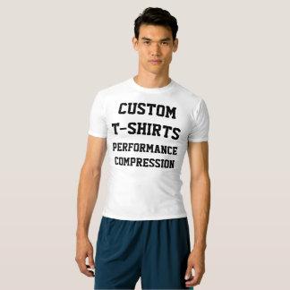 Custom Personalised Men's SPORTS T-SHIRT Template
