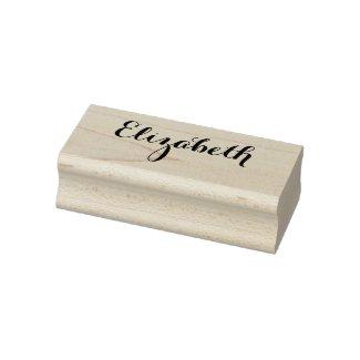 Custom Personalised Name Elegant Stylish Script