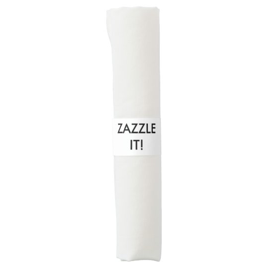 Custom Personalised Napkin Bands Blank Template