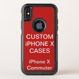 Custom Personalised Otterbox iPhone X Commute Case