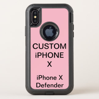 Custom Personalised Otterbox iPhone X Tough Case