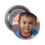 Custom Personalised Photo 6 Cm Round Badge