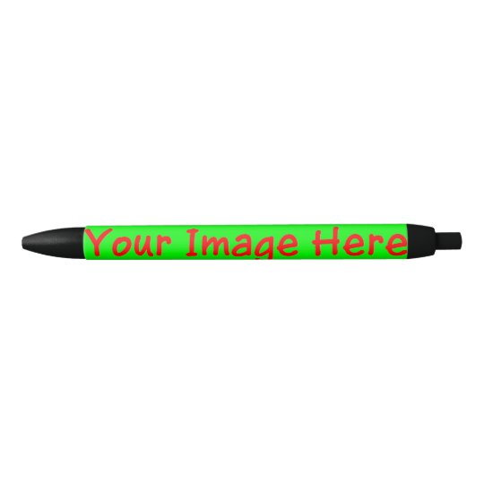 Custom Personalised Photo Frieda's Fave Black Ink Pen