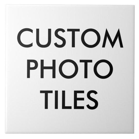 Custom Personalised Photo Tile Blank Template
