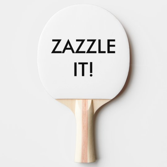 Custom Personalised Ping Pong Paddle (Bat) Blank