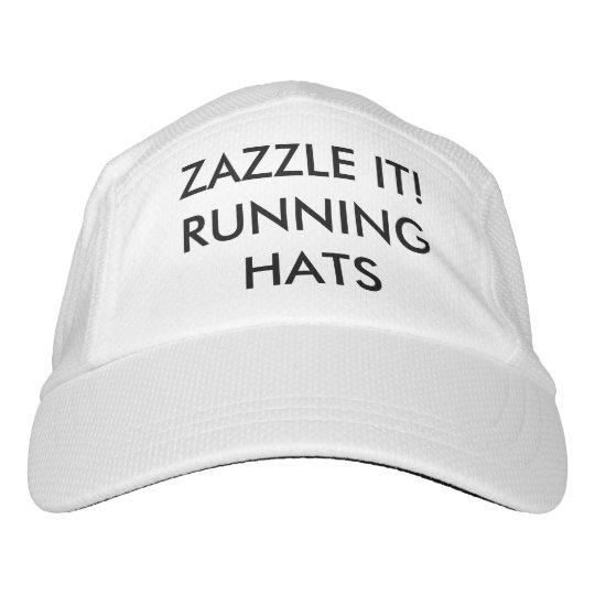 Custom Personalised Running Performance Hat Blank