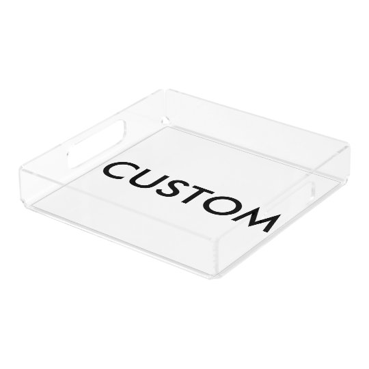 Custom Personalised Serving Tray Blank Template