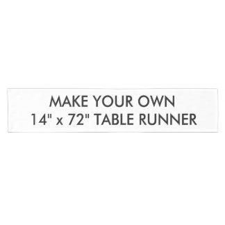 "Custom Personalised Short 14"" x 72"" Table Runner"