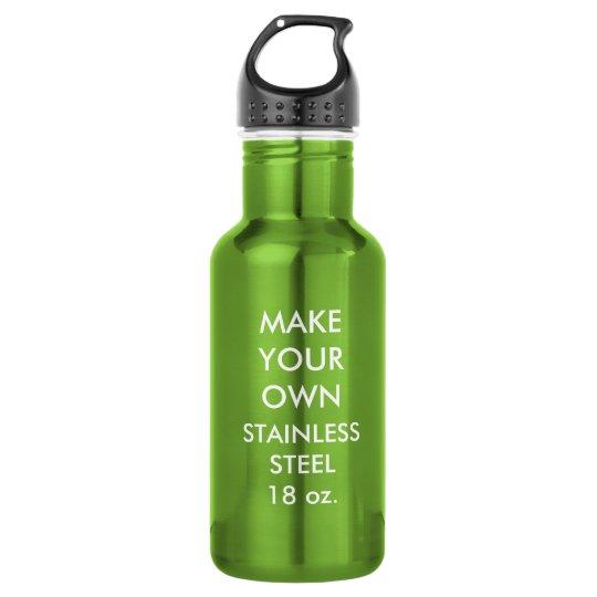 Custom Personalised Stainless Steel Water Bottle