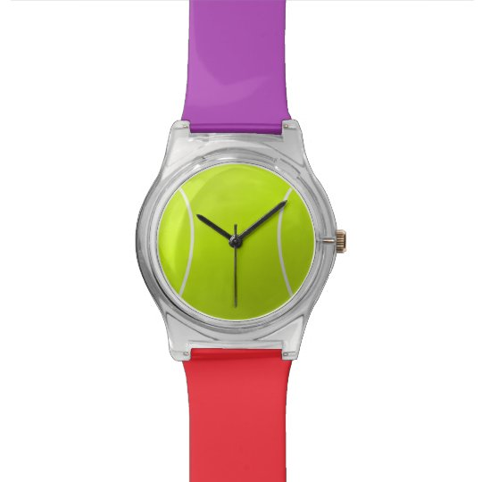 Custom Personalised Tennis Ball Gift Watch
