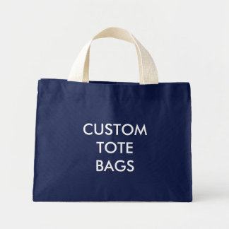 Custom Personalised Tiny Tote Blank Template