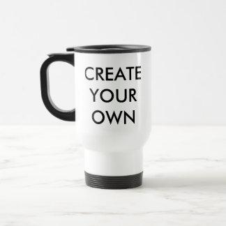 Custom Personalised Travel Mug Blank Template