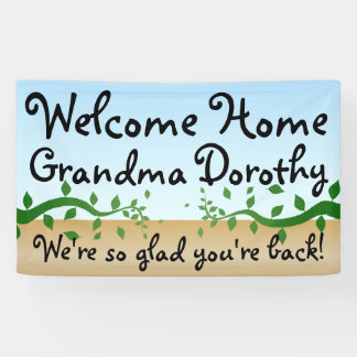 Custom Personalised Welcome Home Sign
