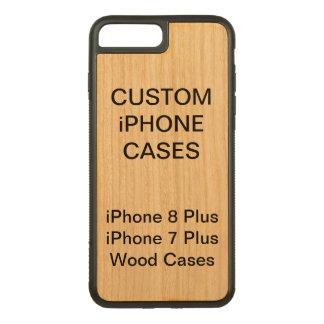 Custom Personalised Wood iPhone 8 Plus 7 Plus Case