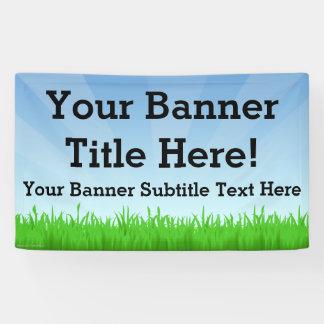 Custom Personalized 3x5 Summer Scene Banner