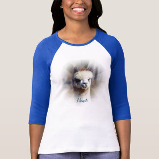 Custom Personalized Alpaca T-Shirt
