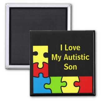 Custom Personalized Autisims Border Magnets