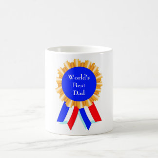 Custom Personalized Blue Ribbon Award Mugs