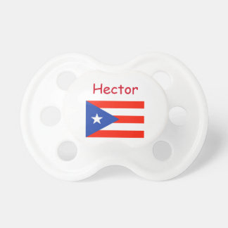 Custom Personalized Boricua Bandera Manuel's fave Baby Pacifier