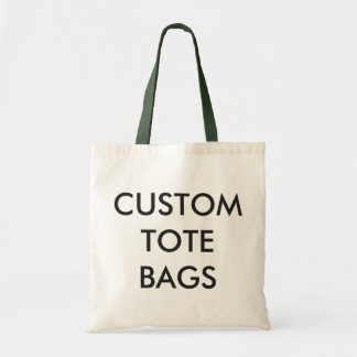 Custom Personalized Budget Tote Blank Template