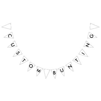 Custom Personalized Bunting Banner Triangle