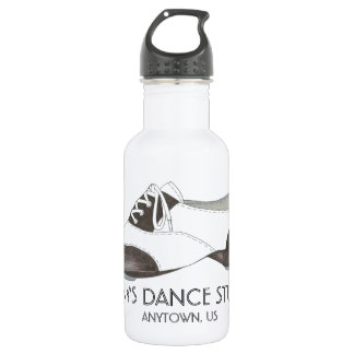 Custom Personalized Dance Studio Tap Shoe Tapdance 532 Ml Water Bottle