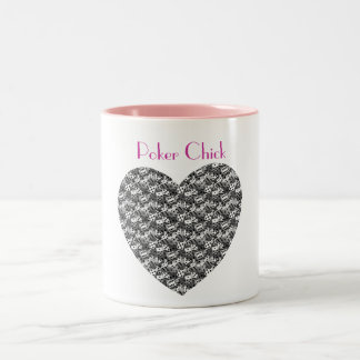Custom Personalized Dice Heart Mugs