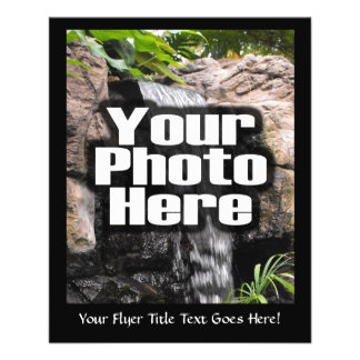 Custom Personalized Digital Photo Add Your Picture Flyer