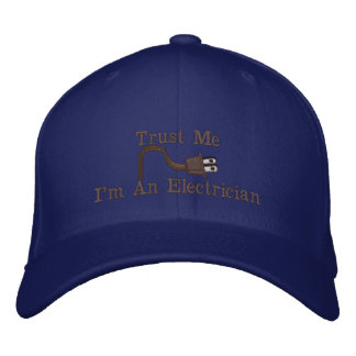 Custom Personalized Electrician Hats Embroidered Hat