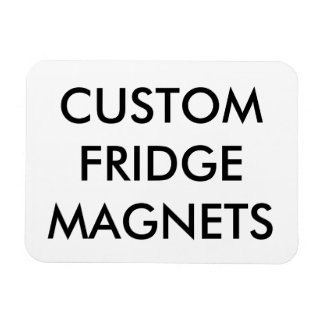 Custom Personalized Flexible Magnet Blank Template