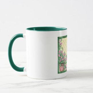 Custom Personalized Floral Mugs