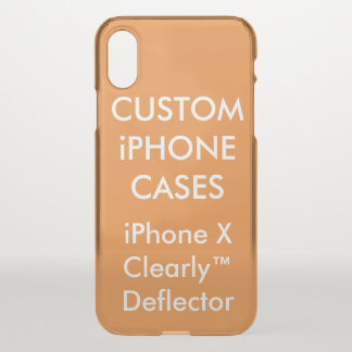 Custom Personalized iPhone X Case Blank Template