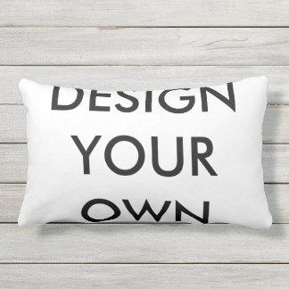 Custom Personalized Lumbar Pillow Blank Template