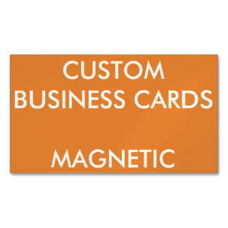 Custom Personalized Magnetic Business Cards Blank