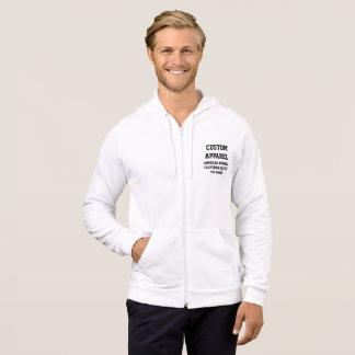 Custom Personalized Men's ZIP HOODIE Template