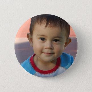 Custom Personalized Photo 6 Cm Round Badge