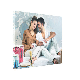 Custom Personalized Photo Stretched Canvas Prints