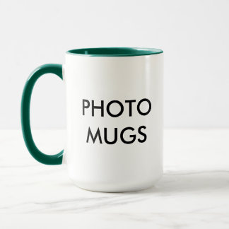 Custom Personalized Photo Combo Mug Blank