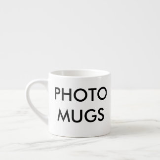 Custom Personalized Photo Espresso Cup Blank