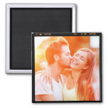 Custom Personalized Photo Gift Fridge Magnet