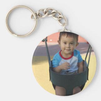 Custom Personalized Photo Key Ring