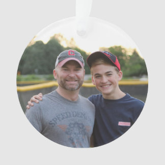 custom / personalized photo ornament - 2016