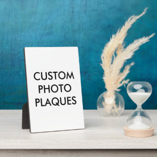 Custom Personalized Photo Plaque Blank Template