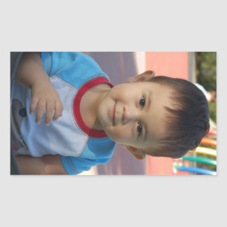 Custom Personalized Photo Rectangular Sticker