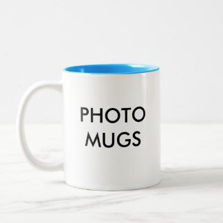 Custom Personalized Photo Two-Tone Mug Blank