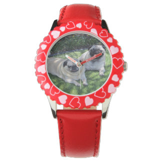 Custom Personalized Photo Watches