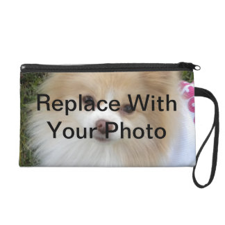 Custom Personalized Photo Wristlet