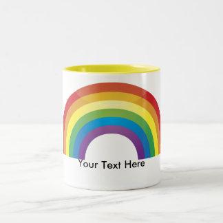 Custom Personalized Rainbow Pride Mugs